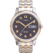 Timex Men's Elevated Classic Expansion Band Watch 264819J