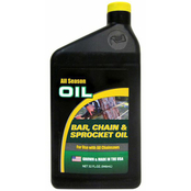 Master Mechanic Chain Saw Bar, Chain and Sprocket Oil, 1 Qt.