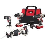 Porter Cable 20V MAX Cordless 4 Piece Tool Kit