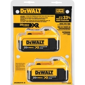DeWalt 20V Premium XR Lithium Ion Battery 2 pk.