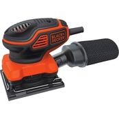 Black & Decker 1/4 Sheet Orbital Sander with Paddle Switch Actuation