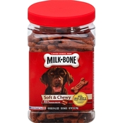 Milk Bone Soft and Chewy Beef and Filet Mignon Dog Snacks 25 oz.