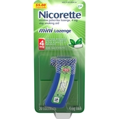 Nicorette 4mg Stop Smoking Aid Mini Lozenge Mint
