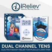 iReliev Pain Relief System, Dual Channel TENS