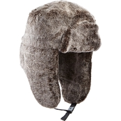 Isotoner Lake of Isles Faux Fur Trapper with Pop Color Quilted Lining Hat