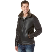 Guess Outerwear Pebble Faux Leather Jacket