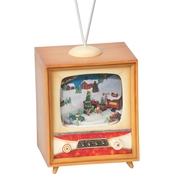 Roman Musical TV Decoration with Farm Scene