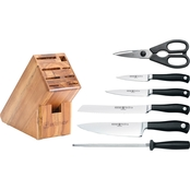 Wusthof Grand Prix 7 pc. Knife Block Set