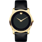 MOVADO MEN'S MUSEUM CLASSIC WATCH