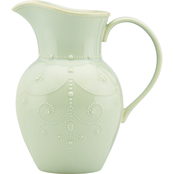 Lenox French Perle Ice Blue Large Pitcher