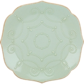 Lenox French Perle Ice Blue 4 pc. Accent Plate Set