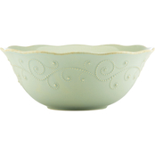 Lenox French Perle Ice Blue Serving Bowl