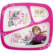 Disney Frozen Anna & Elsa Divided Plate for Kids
