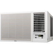 LG 12,000 BTU Slide In Out Chassis Air Conditioner with Supplemental Heat