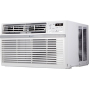 LG Energy Star 8,000 BTU Window Mounted Air Conditioner with Remote Control