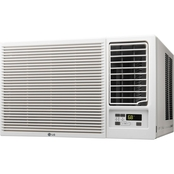 LG 7,500 BTU Slide In-Out Chassis Air Conditioner with Supplemental Heat