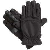 Isotoner Men's smarTouch Matrix Nylon Gloves