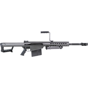 Barrett 82CQ 50 BMG 20.6 in. Barrel 10 Rds Rifle Black with Carry Case
