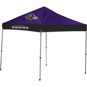 Jarden Sports Licensing NFL Baltimore Ravens 9 Ft. X 9 Ft. Straight-Leg Canopy