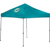 Jarden Sports Licensing NFL Miami Dolphins 9 Ft. X 9 Ft. Straight-Leg Canopy