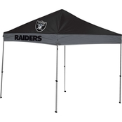 Jarden Sports Licensing NFL Las Vegas Raiders 9 x 9 ft. Straight Leg Canopy