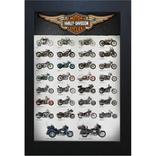 Wall Art Harley Motorcycle