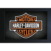 Wall Art Harley Motorcycle Logo