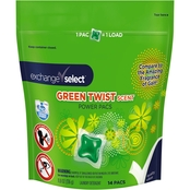 Exchange Select 14 ct. Green Twist Power Pacs Laundry Detergent