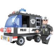 BRICTEK Police Van Building Set