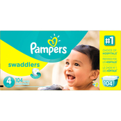 Pampers Swaddlers Diapers Size 4 (22-37 lb.) 104 ct.