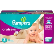 PAMPERS CRUIS S3 GIANT 128CT