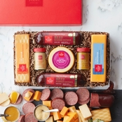 Hickory Farms Beef Sausage & Cheese Gift Set