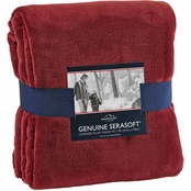 Berkshire Blanket Serasoft Plush Throw