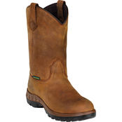 John Deere Men's 11 in. Waterproof Pull On Work Boots