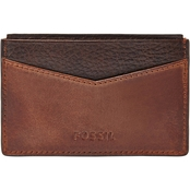 Fossil Quinn Card Case Wallet
