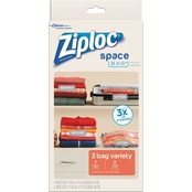 Ziploc Space Bag Variety 3 pk.