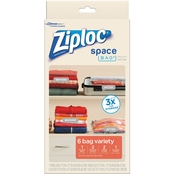 Ziploc Space Bag Variety 6 pk.