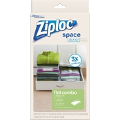 Ziploc Space Bag Flat Combo 3 pk.