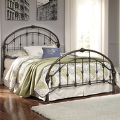Ashley Nashburg Queen Metal Bed