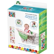 Eric Carle Shopping Cart and High Chair Cover