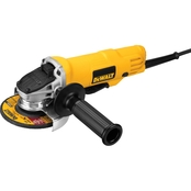 DeWalt DSV521 4.5 In. Paddle Switch Small Angle Grinder