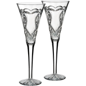 Waterford Wedding Collection 2 pc. Toasting Flute Set
