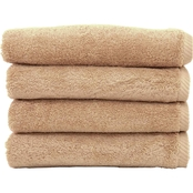 Linum Turkish Cotton Soft Twist 4 Pc. Hand Towel Set