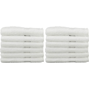 Linum Turkish Cotton Terry 12 Pc. Washcloth Set