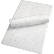 Linum Turkish Cotton Greek Key 2 Pc. Bath Mat Set
