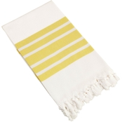 Linum Turkish Cotton Herringbone Pestemal Towel
