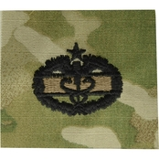 Army Combat Medical Badge 2nd Award Sew-On (OCP)