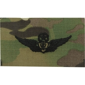 Army Master Aircraft Crewman Badge Sew-On (OCP)