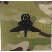Army Master Military Freefall (HALO) Badge Sew-On (OCP)