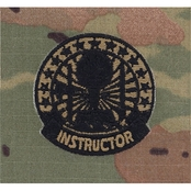 Army Badge Instructor Sew-on Subdued (OCP)